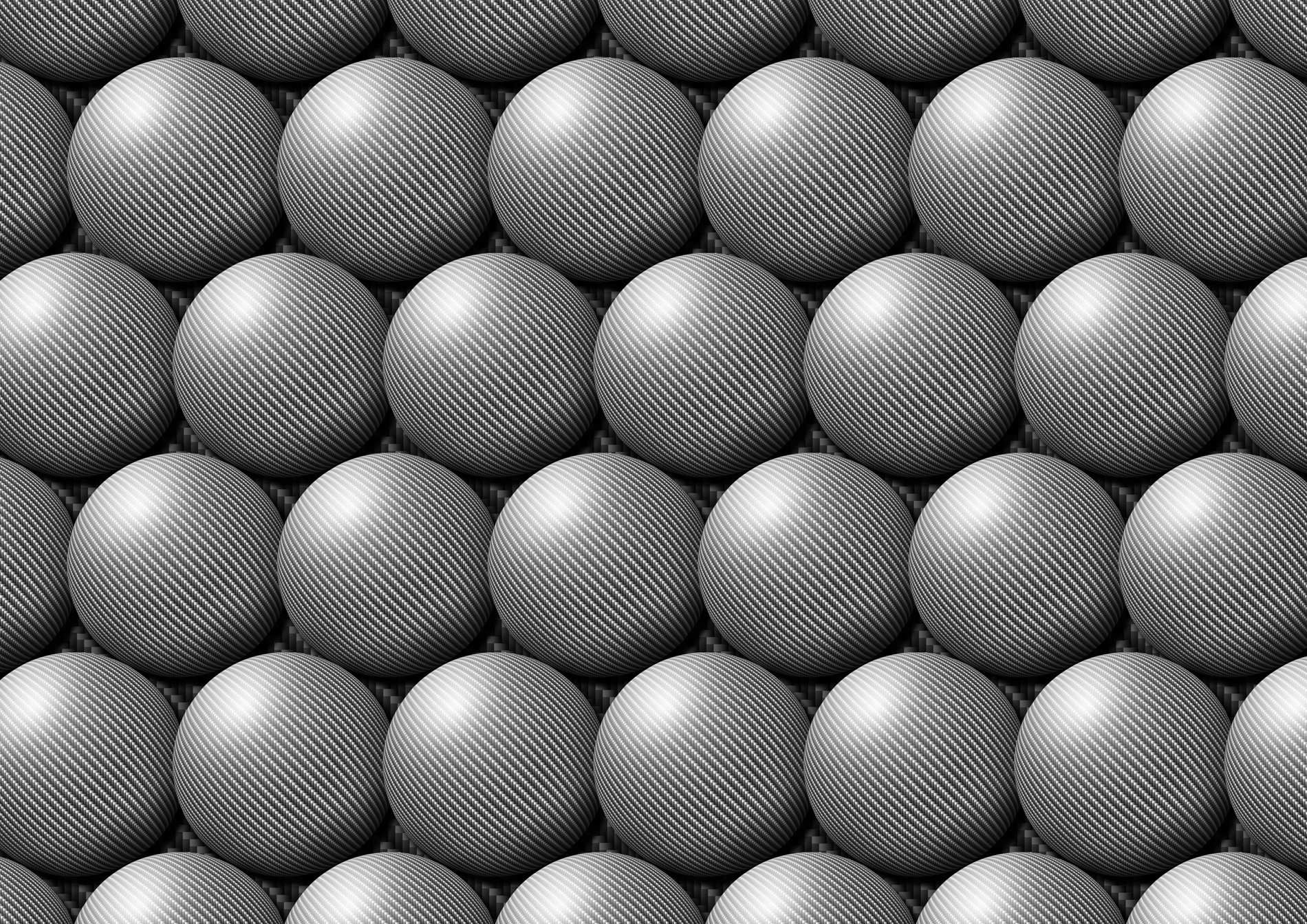Metallic balls background