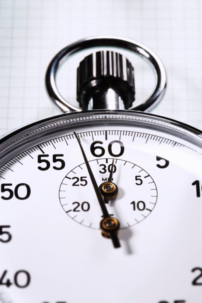 Stopwatch on graph paper cropped